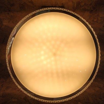 โคมไฟเพดาน  LED 3แสง  มีรีโมตครบชุด ขนาด 50 ซม รุ่น3320