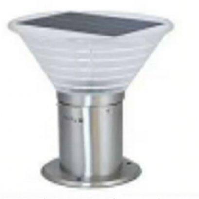 ไฟโซลาร์  garden light  JH-1401 สีสแตนเลส