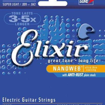 Elixir Electric Guitar Strings  .009-.042