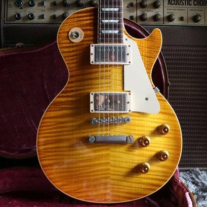 Gibson Custom shop R9 '59 Lemon Burst Killer Flame 1998 (4 KG)