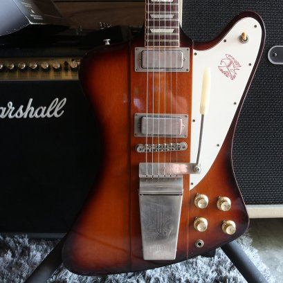 Gibson Custom Shop Firebird V 2010 Vintage Sunburst (4.030kg)