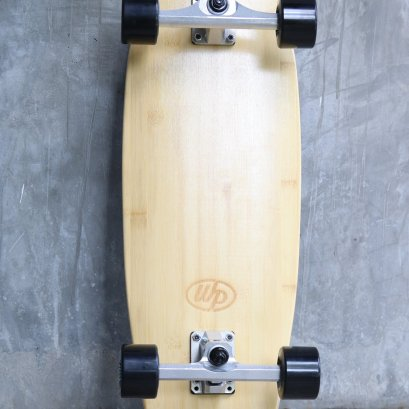 """WOODYPRESS 28"""" CARVING SURFSKATE / Bamboo"""