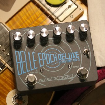 Catalinbread Belle Epoch Deluxe Tape Echo Pedal ( กล่องใบครบ ) ของแถมครบ
