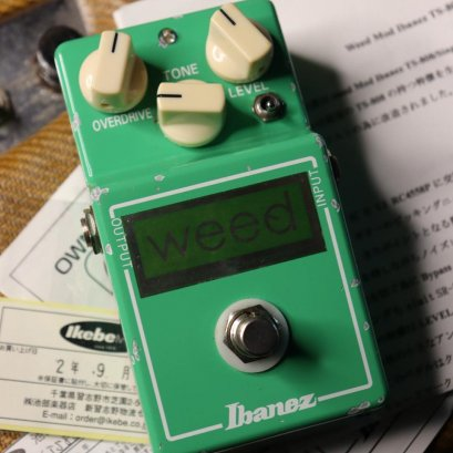 Ibanez TS 808 Weed Green Label #096
