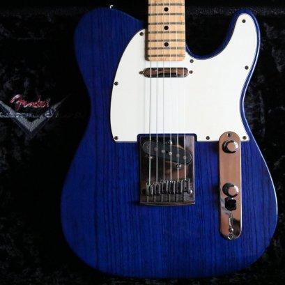 Fender custom shop classic telecaster 2008 Transparrent Cobalt Blue Alder body ( 3.5 Kg )