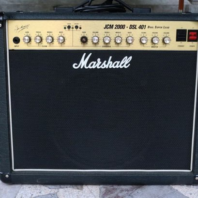 Marshall JCM 2000 DSL 401 Dual Super Lead 2-Channel 40-Watt 1x12""