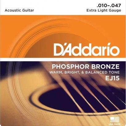 D'addario .010 -.047 EJ15 (เบอร์10)