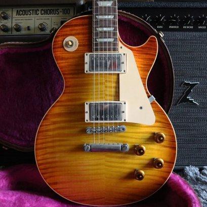 Gibson Custom shop 1959 R9 1997 Killer Flame (4.2kg)