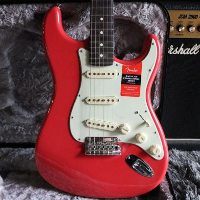 Fender American Professional Rosewood Neck Fista red limited 2017 (3.6kg)