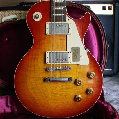 Gibson custom shop reissue 1959 R9 2013 Vos cherry tiger starp (4.2 kg)