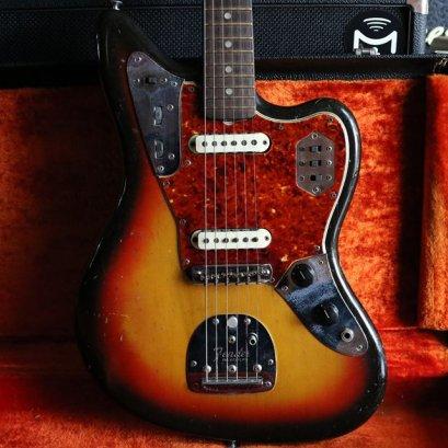 Fender Jaguar 1965 Pre CBS Original Vintage Sunburst (3.6kg)