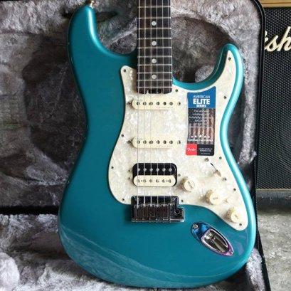 Fender American elite ocean turquoise 2017 Ebonyboard Limited (3.9kg)