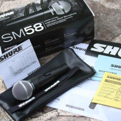 Shure Sm58 Lc ใหม่
