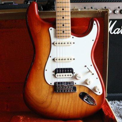 Fender American standard shawbucker 2015 Siena burst Hss (3.6kg)