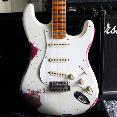 Fender Custom shop 57 relic overcolor Paisley Limited Edition 2016 (3.5kg)