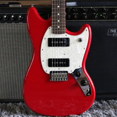 Fender Mustang P90 Torino Red Mexico (3.6kg)