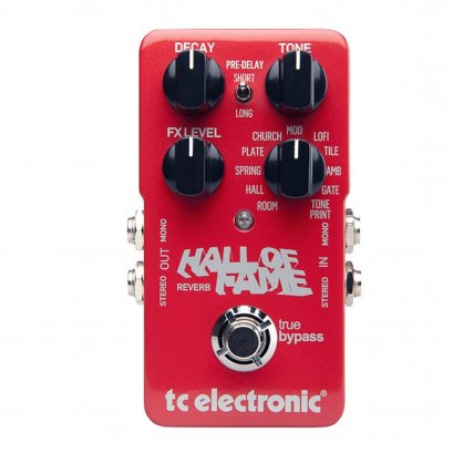 TC Electronic Reverb Hall of Fame