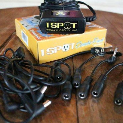 One spot adapter 9v พ่วงได้ 8 ก้อนพร้อมสาย