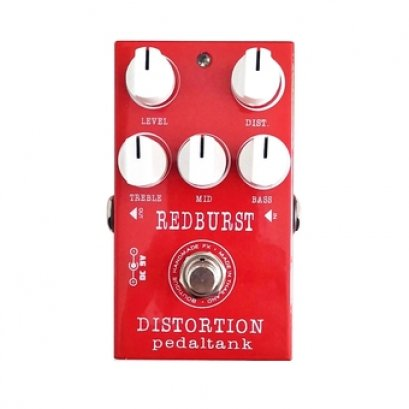 PedalTank RED BURST DISTORTION