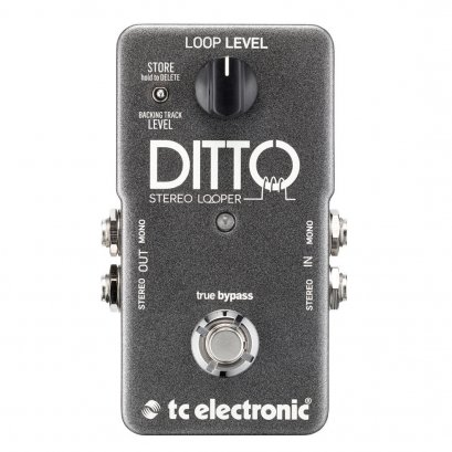 TC Electronic Ditto Looper With Stereo I/O And Backing Track