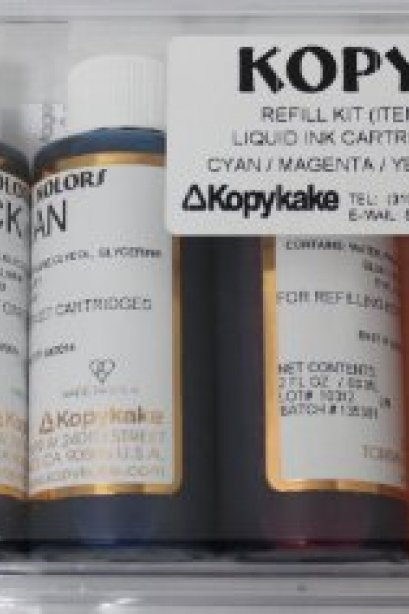 KopyKake Edible Ink Refill set 4