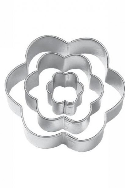 Wilton Fondant Flower Cut Outs
