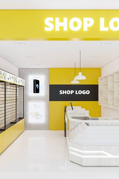Shop set design 2