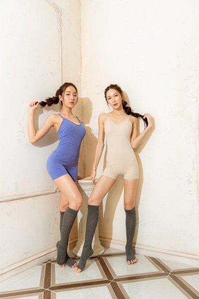 Irene short jumpsuit - ชุดออกกำลังกาย