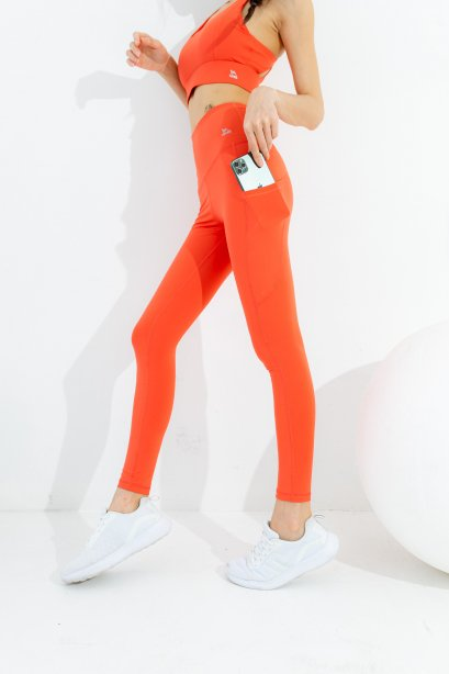 Zap color leggings - กางเกง