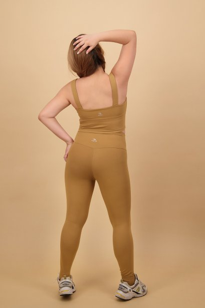Goldenrod yoga leggings - Plus size