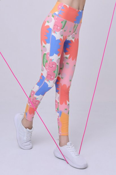 Peachy leggings - Sport Leggings