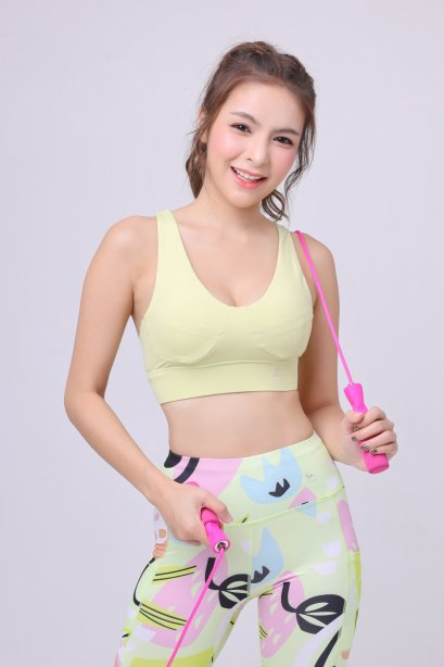 Peachy lemon bra - Sport Bra