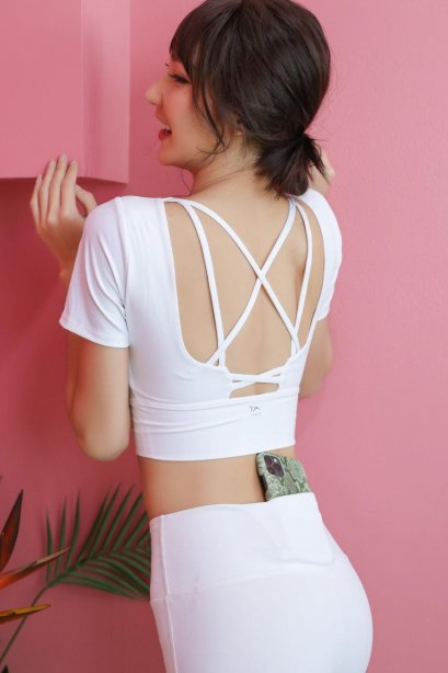Maliza Snow Crop Top - เสื้อ+บรา