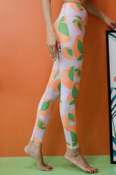 Ava Peach Leggings - Sport Leggings