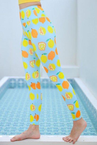 Ava Lemon Leggings - Sport Leggings