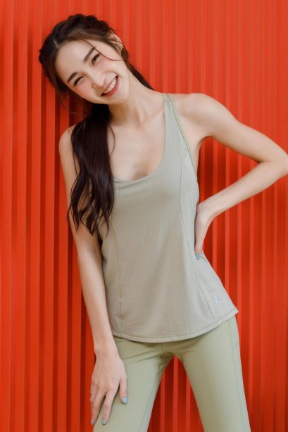Mary tank top with bra - Sport Top