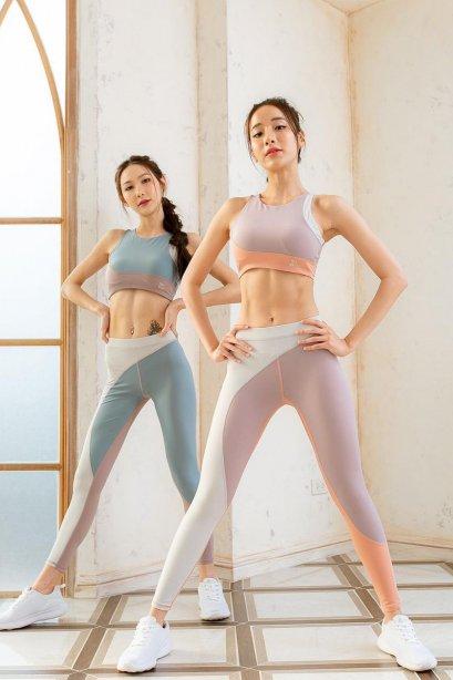 Mix pastel sport set - ชุดออกกำลังกาย