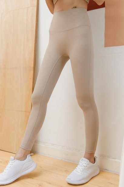 Earth tone leggings - กางเกง