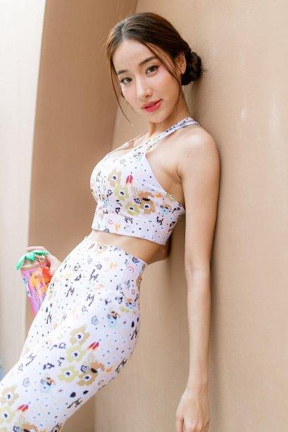 Lily long bra - Sport bra