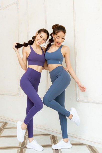 Violet sporty set - Sportswear