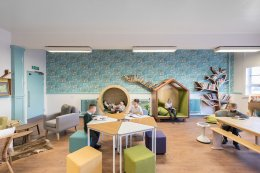 Hygienic and Safety Floor for Kindergarten