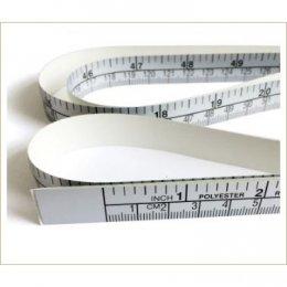 สายวัดผ้า แบบสติ๊กเกอร์ กว้าง 1.5 ซม. ยาว 150 ซม.