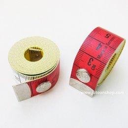 สายวัดผ้า Color plus กว้าง 1.8 ซม. ยาว 150 ซม.