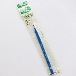 ดินสอลอกลายแบบรีด Clover (สีน้ำเงิน)