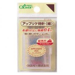 เข็มหมุด Applique (เล่มบาง) ขนาด 0.4 x 25 มม. 90 เล่ม