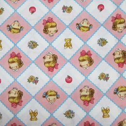 ผ้าคอตต้อนญี่ปุ่น Quilt Gate ขนาด 1/4 หลา (45 * 55 ซม.)