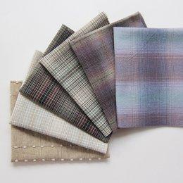 ผ้าทอญี่ปุ่น Daiwabo จัดเซต 6 ชิ้น ขนาด 22 x 28 ซม.
