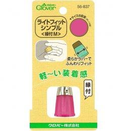 ปลอกนิ้วยางหัวเหล็ก Size M ขนาด 15.5 มม. clover