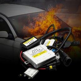 บัลลาสจ่ายไฟแรง ทำให้เกิดไฟไหม้รถ