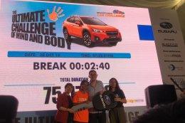 """คนไทยคว้ารางวัล Country TEAM Winner การแข่งขัน """"Mediacorp Subaru Car Challenge 2018"""""""